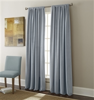 Sherry Kline Elite Velvet 84-inch Blue Window Panel (Pair)