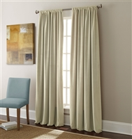 Sherry Kline Elite Velvet 84-inch Taupe Window Panel (Pair)