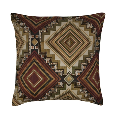 Sherry Kline Aliso Creek Garnet 20-inch Decorative Pillow