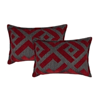 Sherry Kline Southwick Boudoir Decorative Pillow (set of 2)
