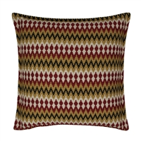 Sherry Kline Springlake Red 20-inch Decorative Pillow