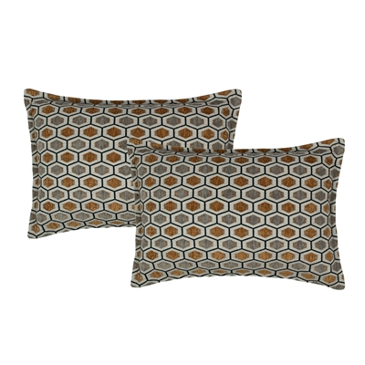 Sherry Kline Stone Harbor Boudoir Decorative Pillow (set of 2)