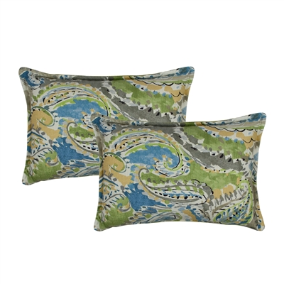 Sherry Kline Navio Boudoir Decorative Outdoor Pillow (set of 2)