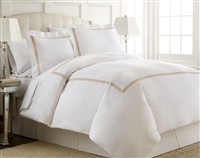Austin Horn En'Vogue Charlotte Copper Embroidered Duvet Cover Set