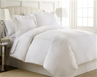 Austin Horn En'Vogue Charlotte Ivory Embroidered Duvet Cover Set