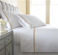 Austin Horn En'Vogue Charlotte Copper Embroidered Sheets Set