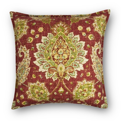Sherry Kline Sycamore Linen 22-inch Decorative Pillow