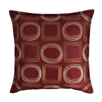 Sherry Kline Synergy Red 20-inch Decorative Pillow