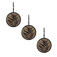 Sherry Kline Biscayne Bay Shower Curtain Hooks (Set of 12)