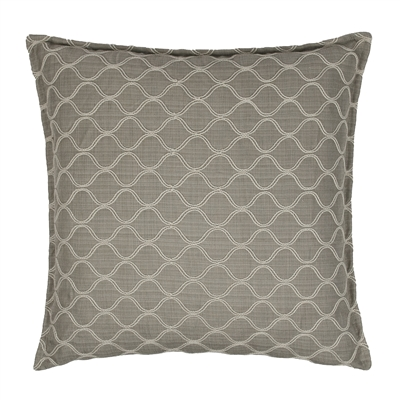 Sherry Kline Newberg 22-inch Embroidered Decorative Pillow