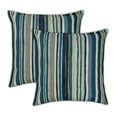 Sherry Kline Lakeview 20-inch Outdoor Pillows (Set of 2)