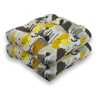Sherry Kline Paintdrip Outdoor Seat Cushions (Set of 2)