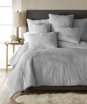 Sherry Kline Fury Tale LIGHT GREY 3-piece Comforter Set