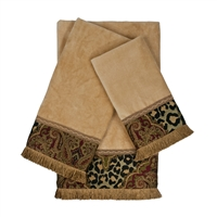 Sherry Kline Tangiers Nugget 3-piece Embellished Towel Set