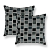 Sherry Kline Stonewall Grey 20-inch Decorative Throw Pillow (Set of 2)