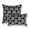Sherry Kline Stonewall Grey Combo Decorative Pillow