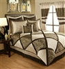 Sherry Kline True Safari Taupe Brown 4-piece Comforter Set