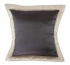Sherry Kline True Safari Taupe Brown Euro Sham (Set of 2)