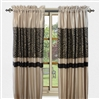 Sherry Kline True Safari Taupe Brown 84-inch Window Panel (Set of 2)