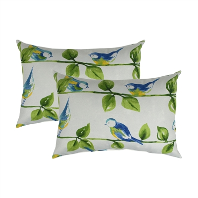Thread and Weave Harmony Boudoir Outdoor Pillow (Set of 2)