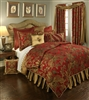 Austin Horn Classics Verona Red 3-piece Luxury Duvet Set