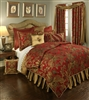 Austin Horn Classics Verona Red 3-piece Luxury Comforter Set