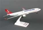 SkyMarks Airplane Model - Turkish A330-200 1/200 W/GEAR