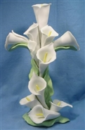 Cala Lily Cross Figurine/Cake Topper