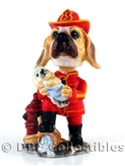 Buddy - Fire Fighter Bobble Head