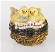 Mr. and Mrs. Nestling's Home Tweet Home - Treasure Box