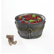 Granny Smith's Apple Bobbin Bucket With Macintosh McNibble - Treasure Box