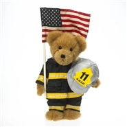 Firefighter McBruin - 9-11 Remembrance - Plush