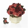 Rose's Bouquet With Bloom McNibble - Treasure Box