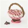 Cheri's Blossom Basket With Dreamy McNibble- Treasure Box