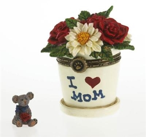 Lil Junior's Flowerpot With Petal McNibble - Treasure Box