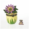 Edie's Spring Bouquet With Daisy McNibble - Treasure Box