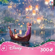 300 Piece Thomas Kinkade - Disney Dreams Princess Tangled