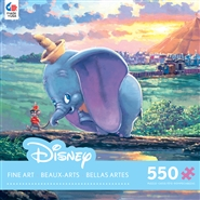 Rodel Gonzalez Disney Fine Art - Unlikely Friends - 550 Piece Jigsaw Puzzle