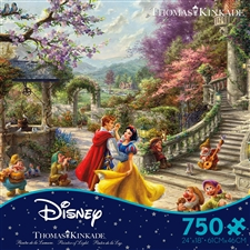 Thomas Kinkade Disney - Snow White Sunlight - 750 Piece Puzzle