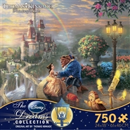 750 Piece Beauty and the Beast Disney Jigsaw Puzzle - Ceaco