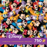 Disney Collection - Disney Plush 750 Piece Jigsaw Puzzle