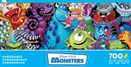 Disney Panoramic - Monsters 700 Piece Jigsaw Puzzle