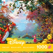James Coleman Disney Fine Art - Pooh's Afternoon Nap - 1000 Piece Jigsaw Puzzle
