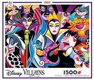 Disney Villains Collage 1500 Piece Puzzle