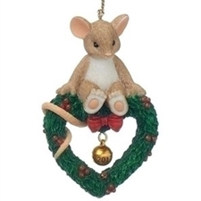 Mouse On Wreath