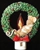 Wreath Flicker Night Light