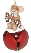 Jingle Buddie Candy Cane Ornament
