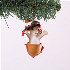 Gone Nutty For Christmas Ornament