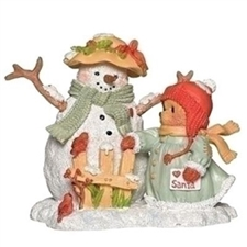 Betty - With Snowman