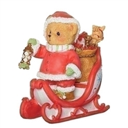 Morgan - Santa in Sleigh Figure